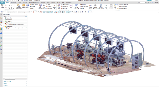 Point Cloud in NX 11