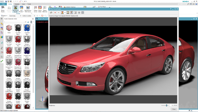 iRay the new render engine for Siemens NX