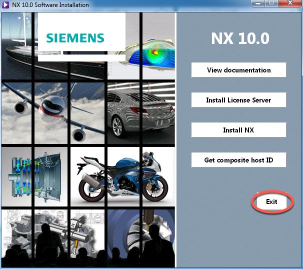 instalare nx10 exit