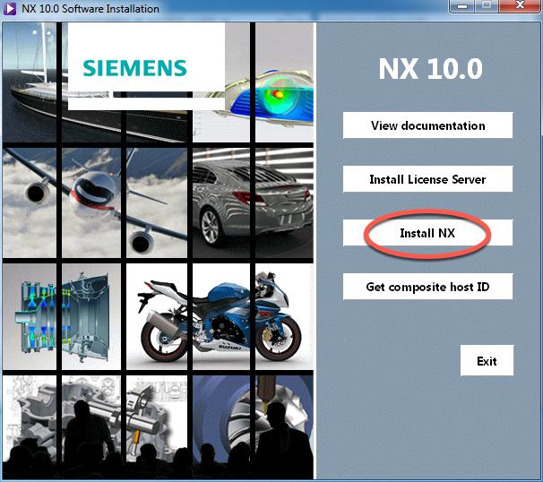 Program de instalare NX10