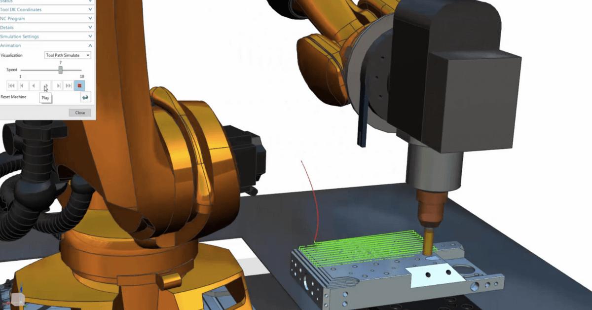 digital-twin-va-invita-la-demo-metal-vest-programare-robot-kuka-pentru-frezare-si-debavurare-cu-nx-cam-robotics
