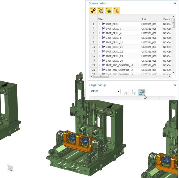 NX machining line planner